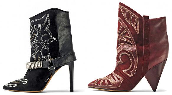 en présentant une grande variété de modèles profiter de prix discount Boots Isabel Marant - Automne/hiver 2012-2013 - Tendances de ...