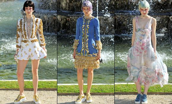 Défilé croisière Chanel 2013