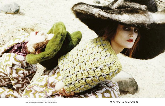 Marc Jacobs - Campagne automne/hiver 2012-2013