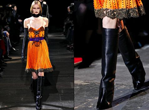 Bottes gu�tres Givenchy