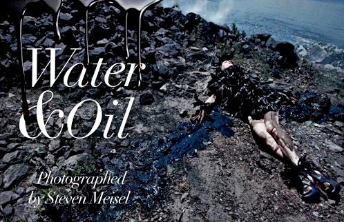 Steven Meisel - Water&Oil