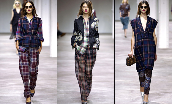 Défilé Dries Van Noten 2013
