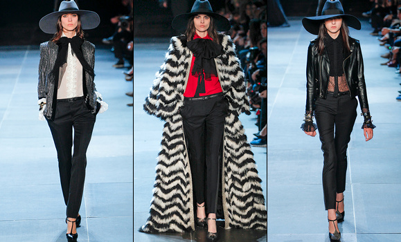 Défilé Saint Laurent 2013