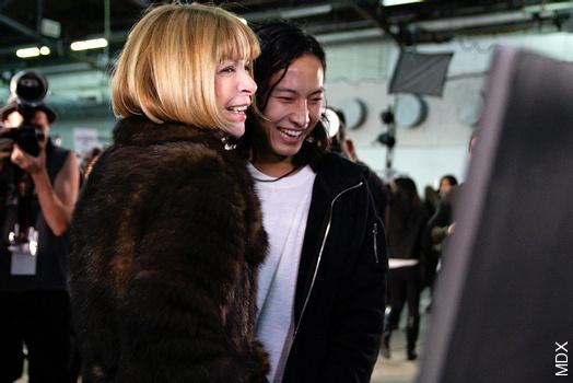 Alexander Wang & Anna Wintour