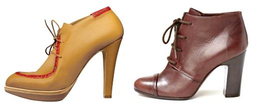 Ankle boots lacées