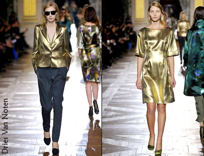 D�fil� Dries Van Noten 2010/2011