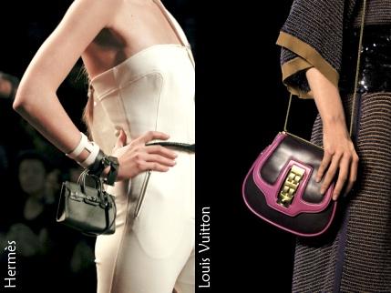 А еще модно носить обычные сумки как клатч - рискнете?