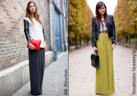 Styles de jupes maxi photo 2