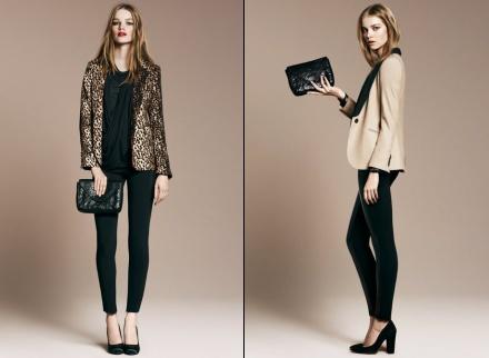 Pochette en cuir Zara