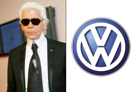 Karl Lagerfeld pour Volkswagen