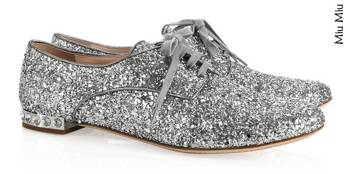 Sequined brogues