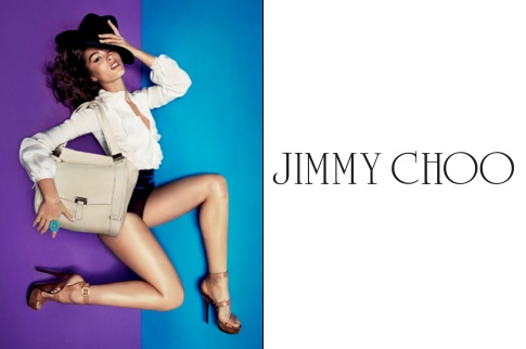 Crystal Renn x Jimmy Choo