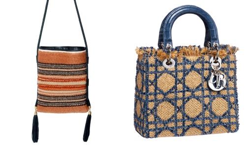Sacs Emilio Pucci et Dior