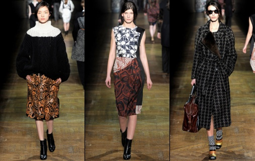 Défilé Dries Van Noten 2012