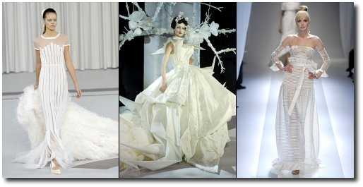 Robes de mariées 2007
