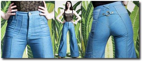 Le jean large