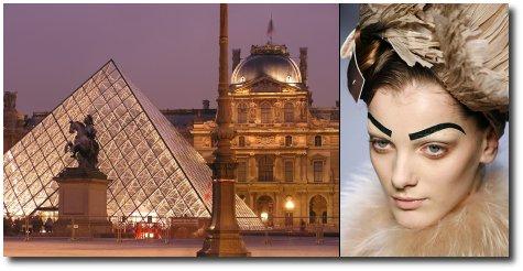 Le Louvre se met � la mode