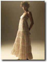 Robe longue liberty femme