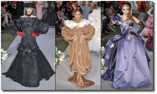 Défilé Dior - Haute Couture, Automne-Hiver 2007-2008