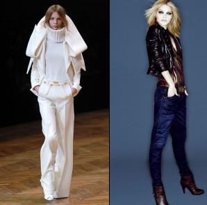 Jean slim ou pantalon large