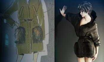 Les mangas s'habillent en Prada