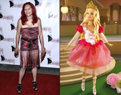 Patricia Field habille Barbie