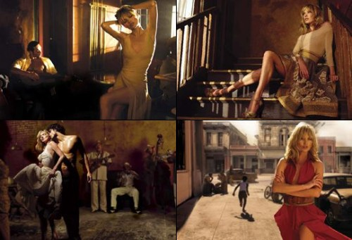 Kate Moss pour Donna Karan