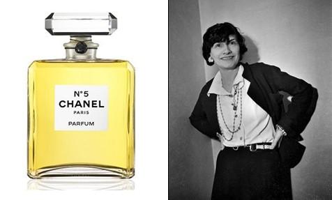 Coco Chanel et son parfum