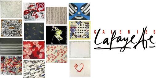 Foulards cr�ateurs aux Galeries Lafayette