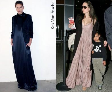 Kris Van Assche & Angelina Jolie