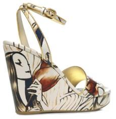 Sandales compensées Prada