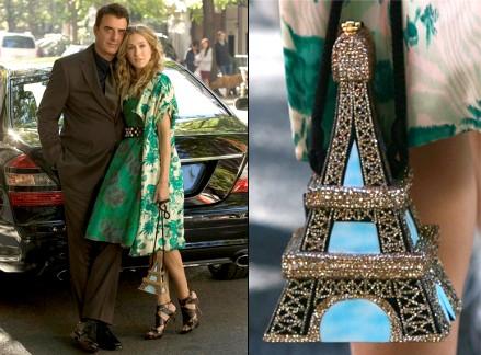 Sex and the city : le sac tour Eiffel