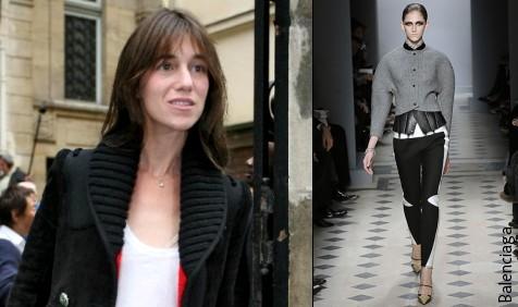 Charlotte Gainsbourg & Balenciaga
