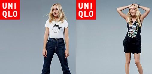 Chlo� Sevigny pour Uniqlo