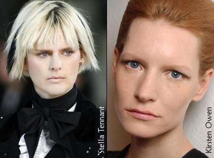 Stella Tennant et Kirsten Owen