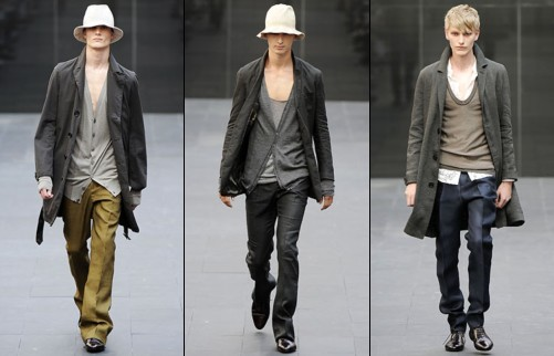 Burberry - Collection Homme printemps 2009