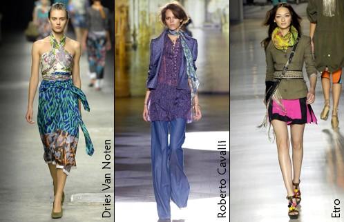Le foulard - été 2008