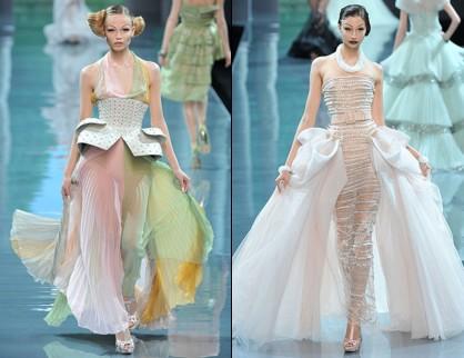 D�fil� Dior - Haute Couture hiver 2009