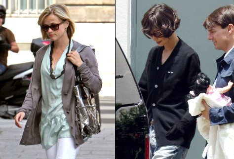 Reese Witherspoon & Katie Holmes