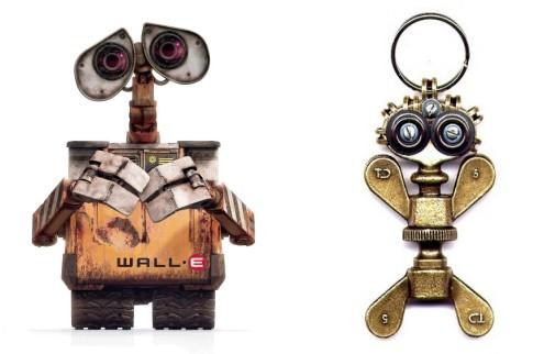Wall-E et Fifi la Ferraille