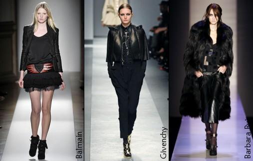 Défilés Balmain, Givenchy et Barbara Bui