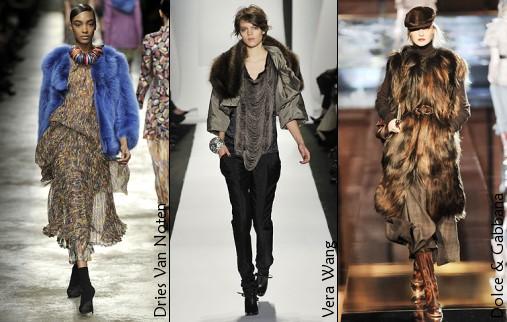 Défilés Dries Van Noten, Vera Wang et Dolce & Gabbana