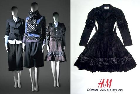 Comme des Garçons pour H&M