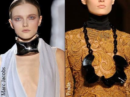 Maxi colliers - Marc Jacobs et Prada