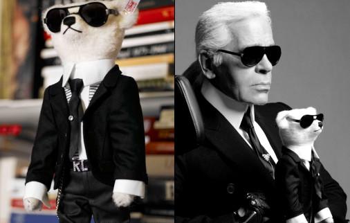 Teddy Bear Karl Lagerfeld