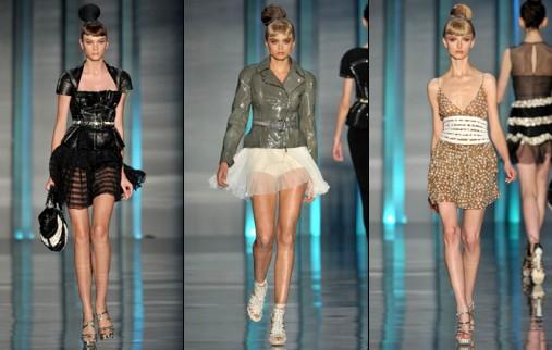 D�fil� Dior - Printemps/�t� 2009