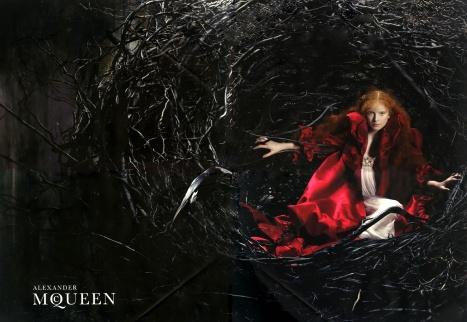 Alexander McQueen - Campagne automne 2008