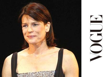 St�phanie de Monaco chez Vogue