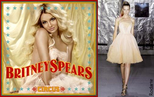 Britney en Rodarte