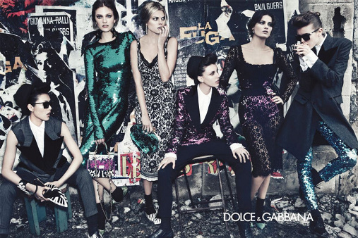 Campagne Dolce & Gabbana - Automne/hiver 2011-2012 - Photo 1